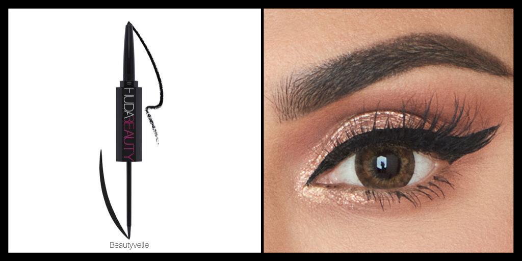 Huda Beauty Life Liner Duo Eyeliner Eyeshadow Look
