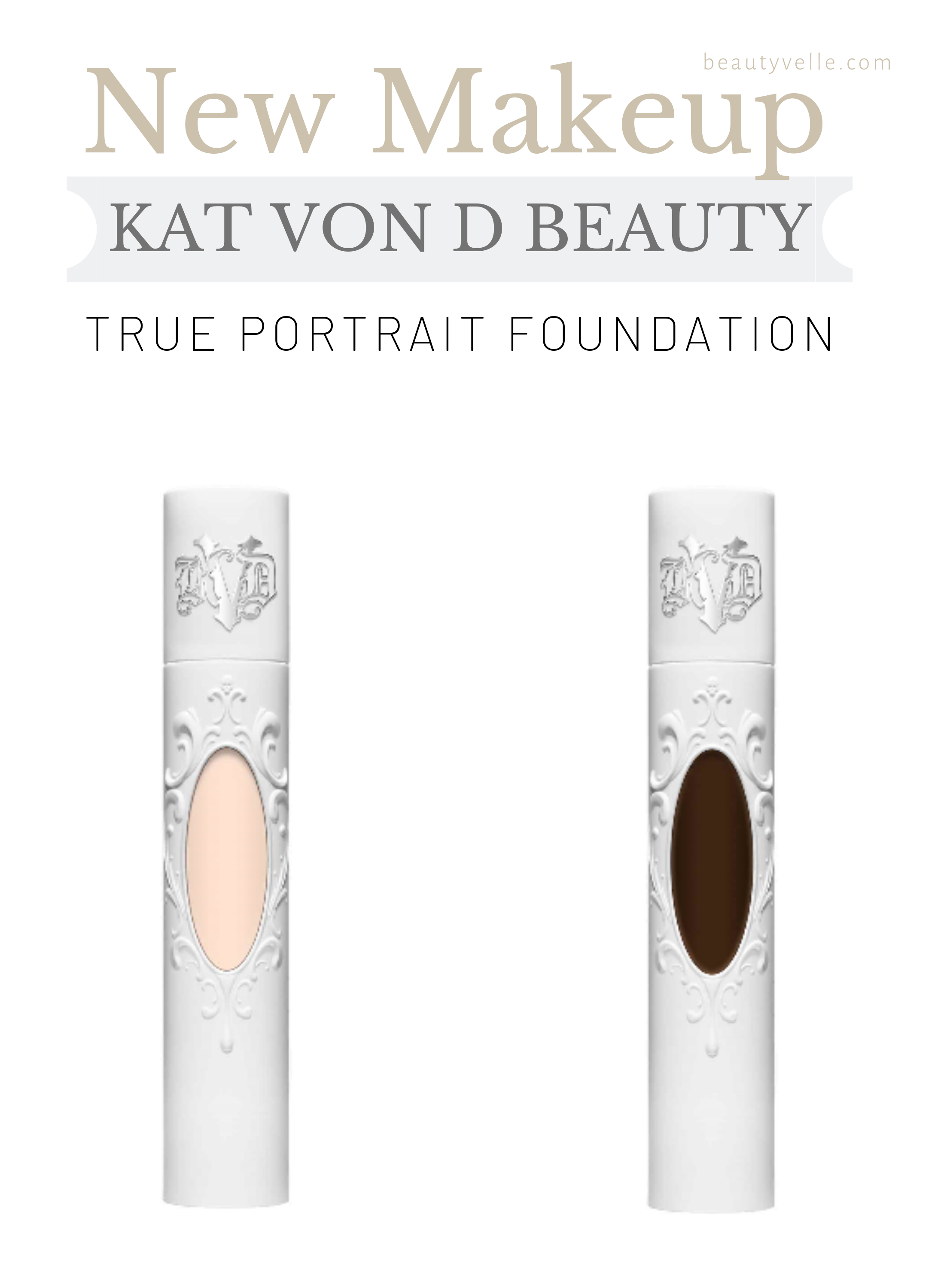 New Makeup Kat Von D True Portrait Foundation